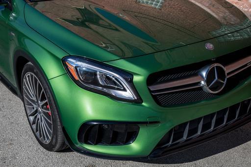 2018 Mercedes-AMG GLA45 in Kryptonite Green: Kryptonite to Good Taste