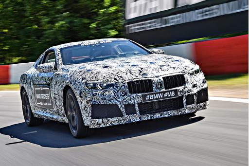 BMW Teases M8 Coupe