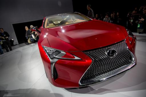2017 Lexus LC 500: First Impressions