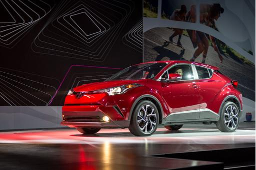 2018 Toyota C-HR Review: Photo Gallery