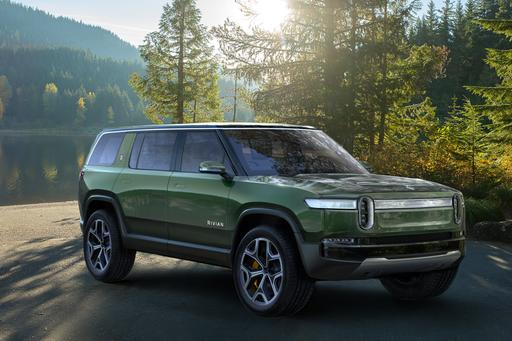 Rivian Targets 2020 for 410-Mile, 3-Row Electric SUV