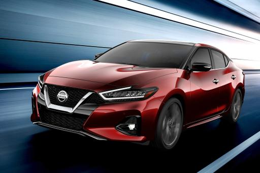 Updated 2019 Nissan Maxima on Its Way to L.A.