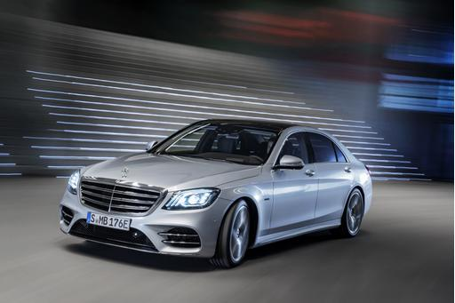 Mercedes Plug-In S-Class Adds Battery Capacity, Likely Range