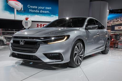 2019 Honda Insight Prototype: Photo Gallery
