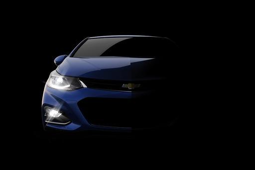 Chevrolet Teases 2016 Cruze