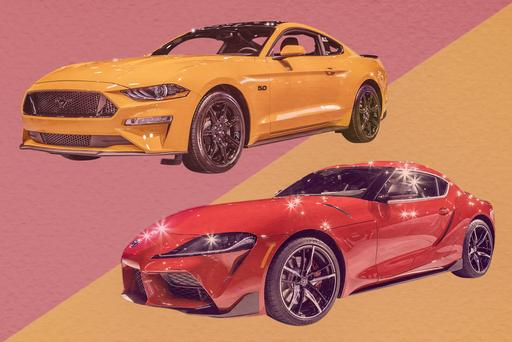 Auto Show Face-Off: 2020 Toyota Supra Vs. 2019 Ford Mustang GT