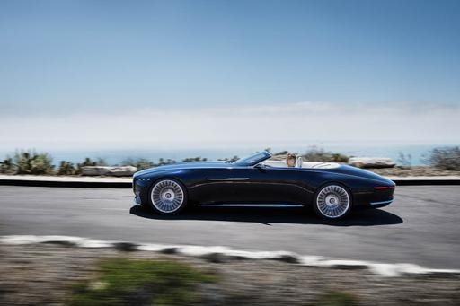 Vision Mercedes-Maybach 6 Cabriolet Concept Preview