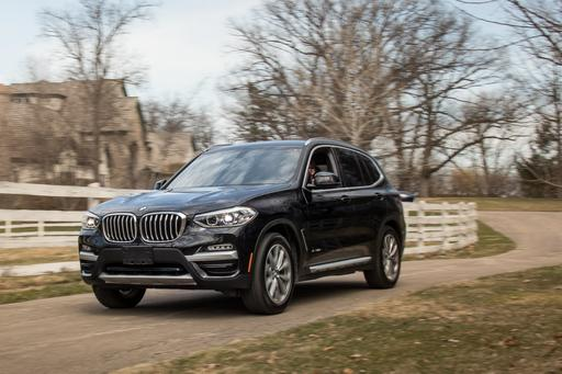 2018 BMW X3: Luxury Compact SUV Challenge Gallery