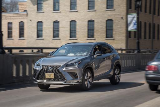 2018 Lexus NX 300: Luxury Compact SUV Challenge Gallery