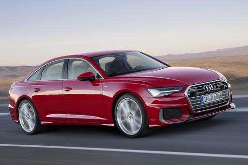 2019 Audi A6 Gets Fresh Face, Big Tech Upgrade