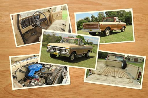 Look What We Found: 1976 Ford F-250 Custom