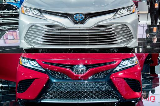 How the 2018 Toyota Camry's Trims Look Different