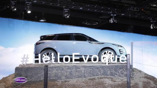 2020 Land Rover Range Rover Evoque Makes North American Debut