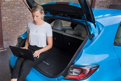 How Do Car Seats Fit in a 2019 Toyota Corolla Hatchback?