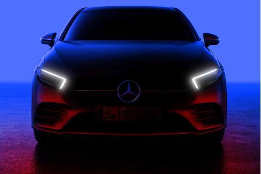 Mercedes Teases U.S.-Bound A-Class Baby Benz