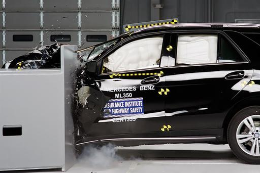 2018 Mercedes-Benz GLE-Class Scores Top IIHS Safety Rating
