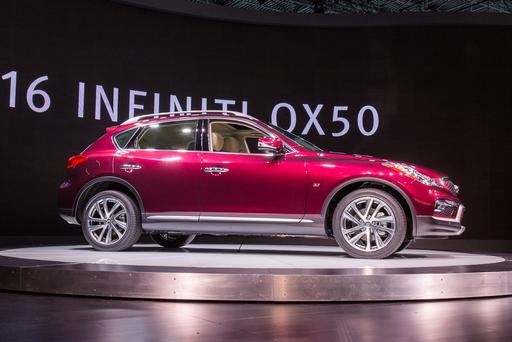 2016 Infiniti QX50 Bigger, But Still Behind Competition