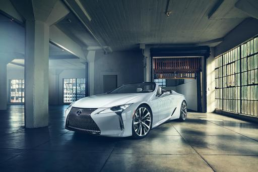 Lexus Has Us Dreaming of Summer With LC Convertible Concept