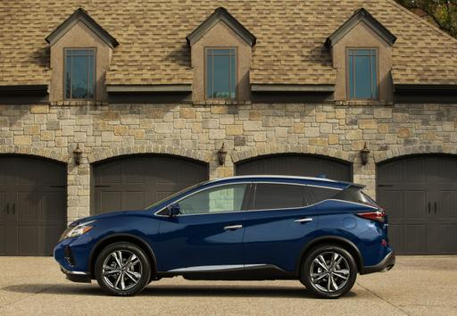 2019 Nissan Murano Dresses Up for New Competition