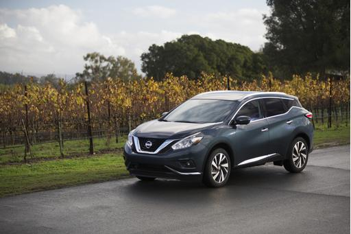 Nissan Announces Pricing for 2016 Murano