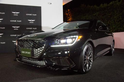 2018 Genesis G80 3.3T Sport Review: Photo Gallery