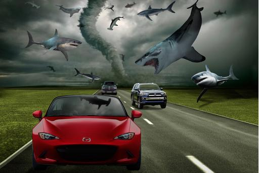 The Five Best Cars to Survive a Sharknado
