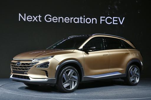 Hyundai Introduces New Fuel-Cell Electric SUV