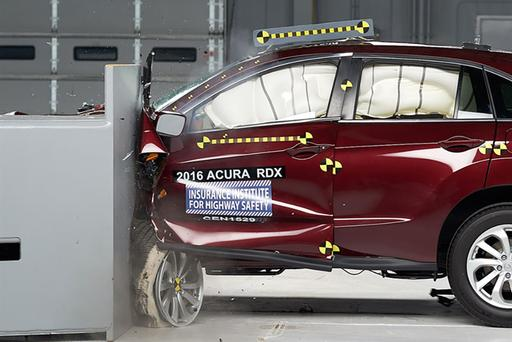 2016 Acura RDX, ILX and Honda Accord Named IIHS Top Safety Pick Plus