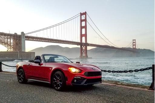2017 Fiat 124 Spider Abarth Review: Photo Gallery