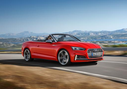 2018 Audi A5 and S5 Cabriolet Preview