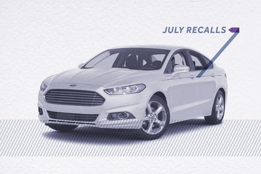 Recall Recap: The 5 Biggest Recalls in July