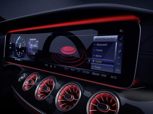 Mercedes-Benz Teases High-Tech CLS Dash Ahead of L.A.