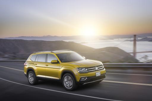 2018 Volkswagen Atlas Preview