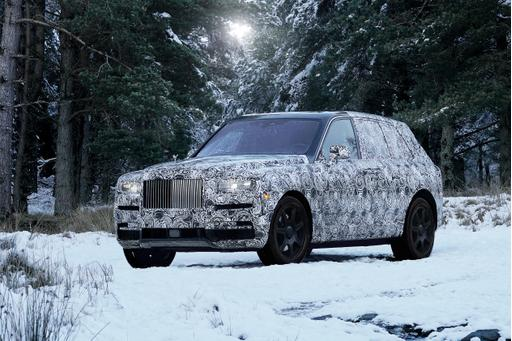 Rolls-Royce Not Calling All-New SUV an SUV (But It's an SUV)