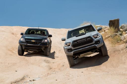 2017 Chevrolet Colorado ZR2 Vs. 2017 Toyota Tacoma TRD Pro