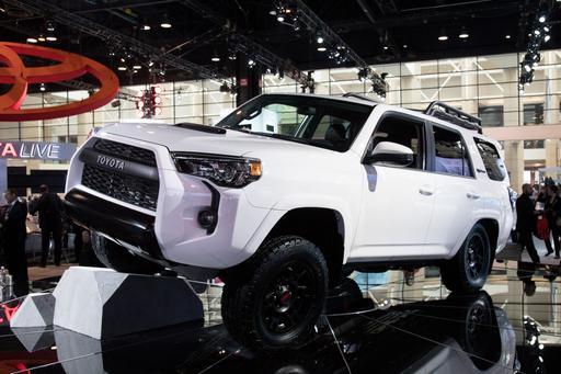 2019 Toyota TRD Pro Photo Gallery: Toyota Trail Trucks Take Chicago
