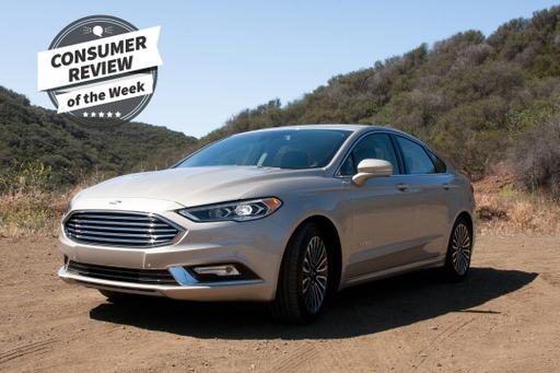 Consumer Review of the Week: 2017 Ford Fusion Hybrid