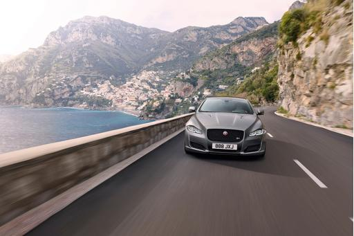 Jaguar Launches High-Performance XJR575