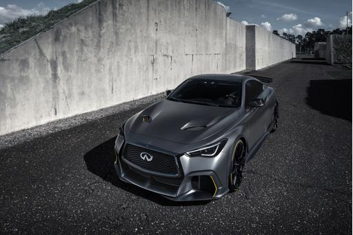 Infiniti Project Black S Is More Motorsport-Inspired Magic for Paris
