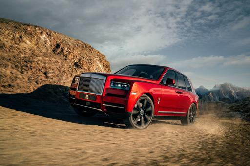Rolls-Royce Cullinan (Not) SUV Revealed in All Its Absurdity