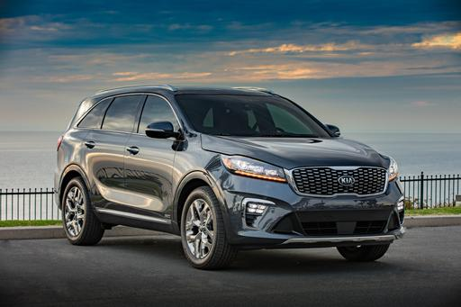 2019 Kia Sorento Gains Standard Third Row, Diesel Model