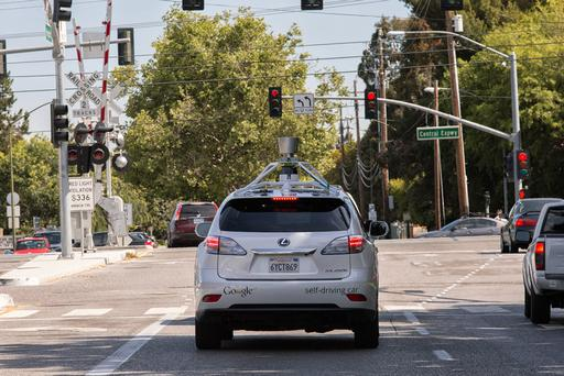 Google Cites Human Error in Driverless-Car Collision
