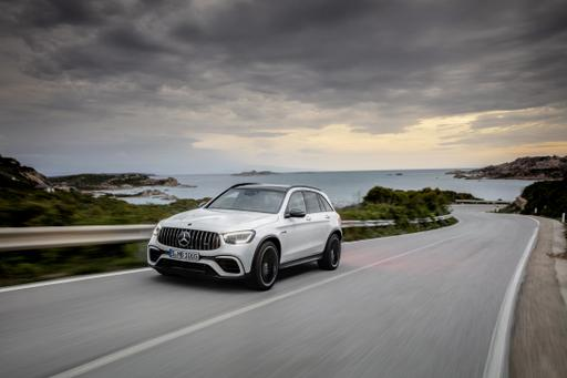 2020 Mercedes-AMG GLC63 SUV Gets Light Exterior Updates, Modern Tech