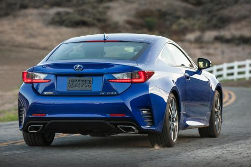 Lexus Adds To RC Lineup for 2016