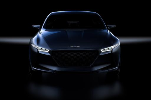 Hyundai's New Genesis Brand Teases 'Sports Sedan' Concept