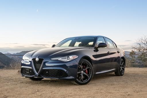2018 Alfa Romeo Giulia: 'O Brawling Love! O Loving Hate!'