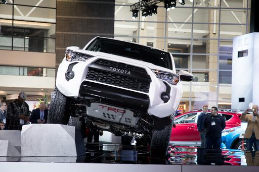 2019 Toyota TRD Pro Photo Gallery: Toyota Trail Trucks Take Chicago