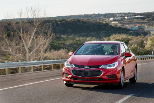 2017 Chevrolet Cruze Review: Photo Gallery