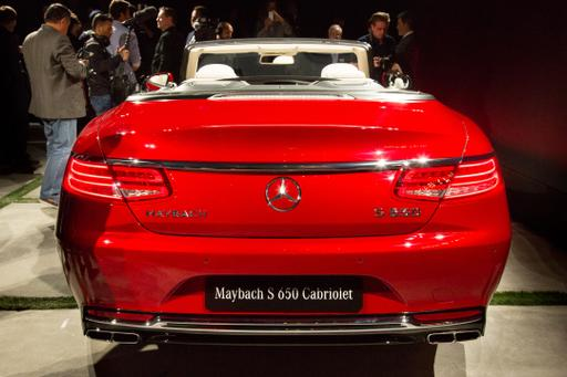2017 Mercedes-Maybach S650 Cabriolet Review: Photo Gallery