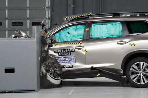 2019 Subaru Ascent Is Tops in Safety Ratings